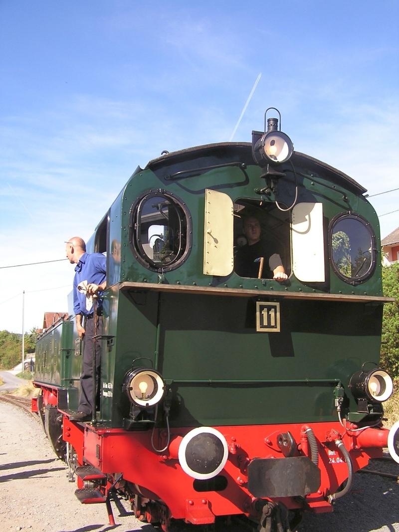 Mit dem Vulkan-Express hoch in die Eifel - die Brohltalbahn  1111