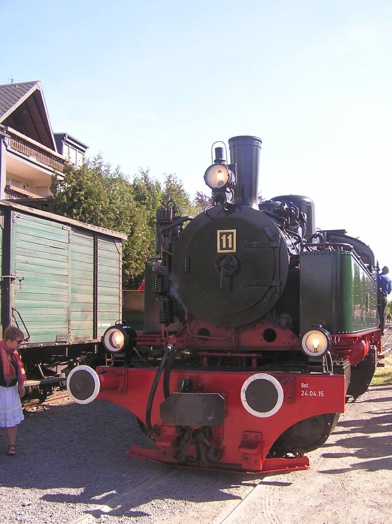 Mit dem Vulkan-Express hoch in die Eifel - die Brohltalbahn  1211