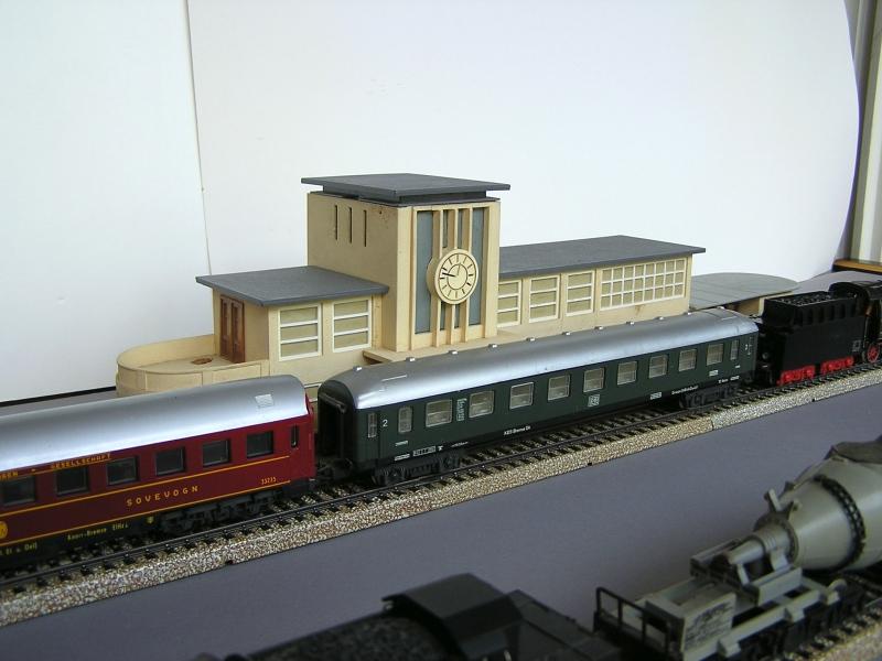 Bahnhof 0/51/7, Kibri, 1/87 1220