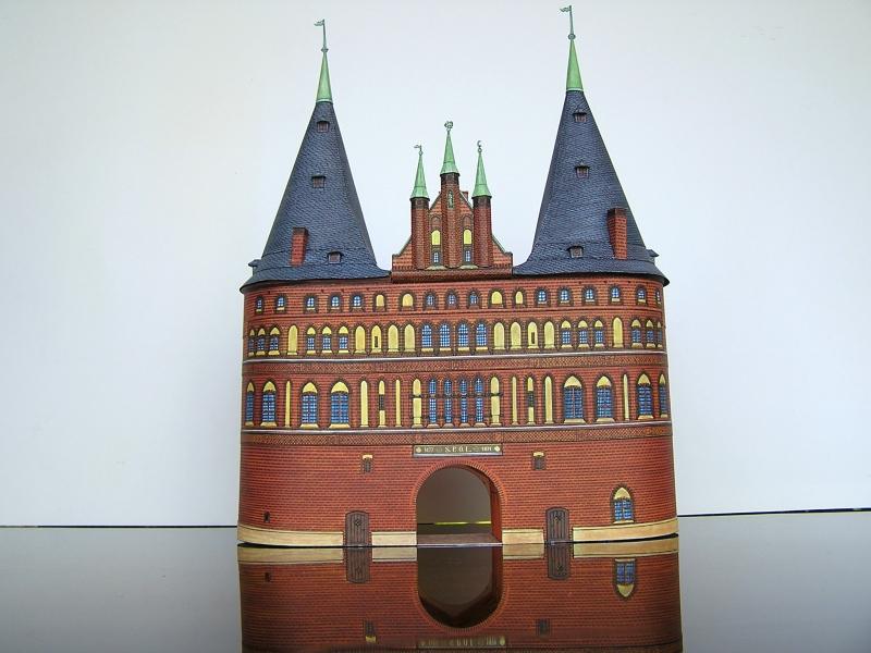 Holstentor Lübeck, 1:160, Schreiber-Bogen 124