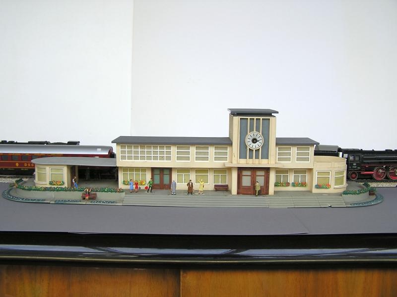 Bahnhof 0/51/7, Kibri, 1/87 125