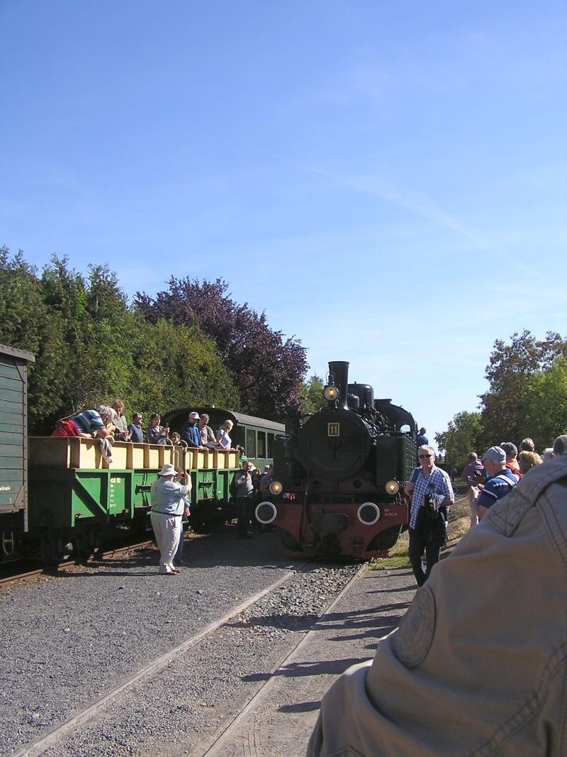 Mit dem Vulkan-Express hoch in die Eifel - die Brohltalbahn  1312