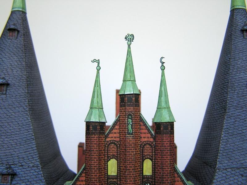 Holstentor Lübeck, 1:160, Schreiber-Bogen 1320