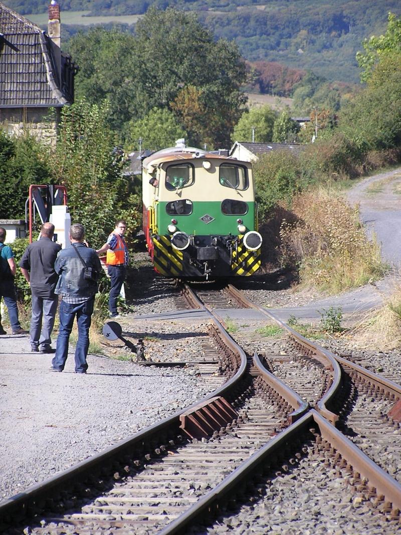 Mit dem Vulkan-Express hoch in die Eifel - die Brohltalbahn  1411