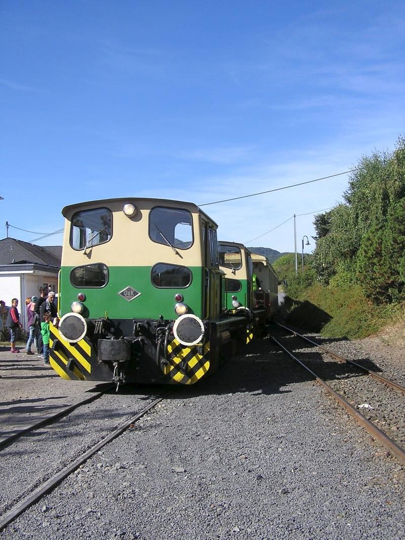 Mit dem Vulkan-Express hoch in die Eifel - die Brohltalbahn  1511