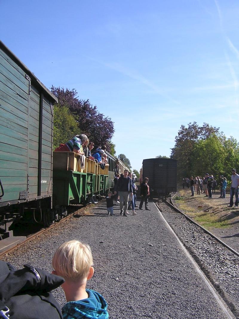Mit dem Vulkan-Express hoch in die Eifel - die Brohltalbahn  1812