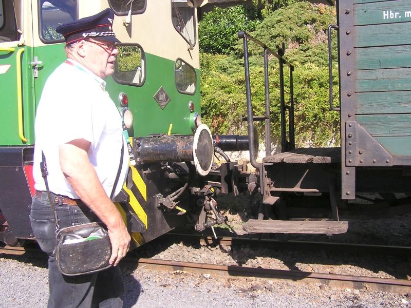 Mit dem Vulkan-Express hoch in die Eifel - die Brohltalbahn  2011