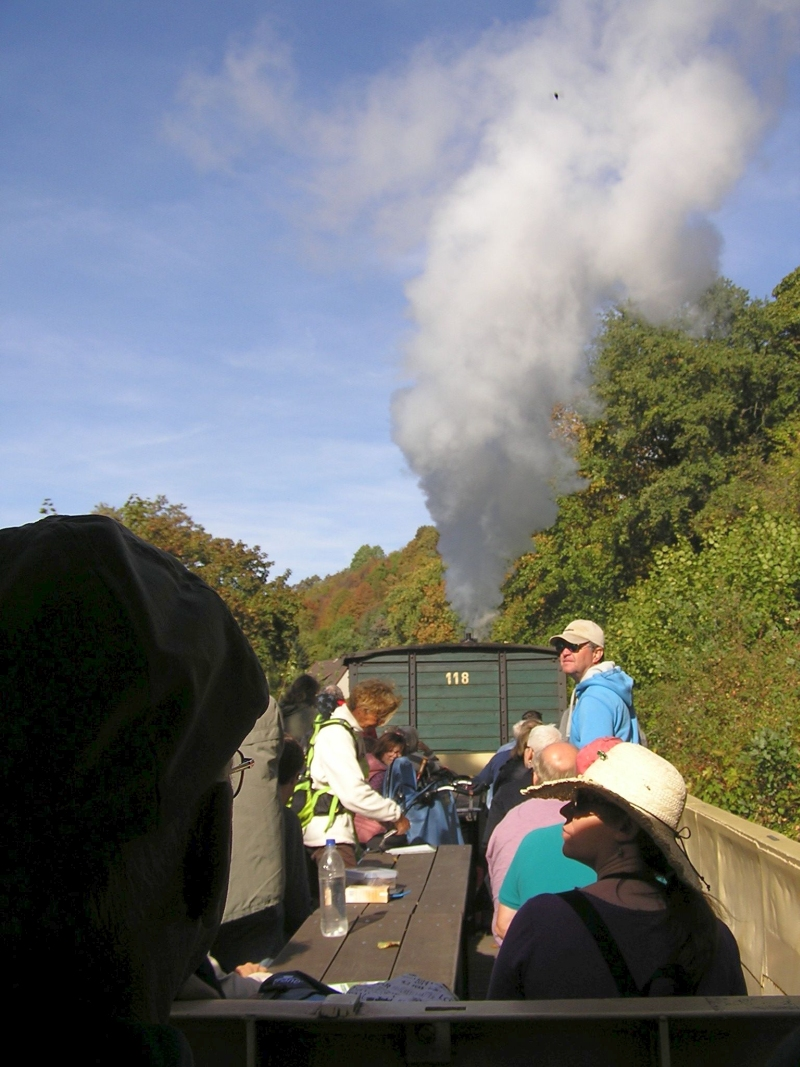 Mit dem Vulkan-Express hoch in die Eifel - die Brohltalbahn  214