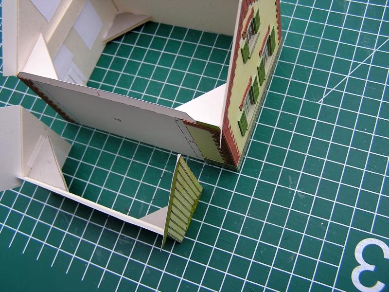 Bedarfshaltestelle Süßenmühle von Schreiber-Bogen in H0 - leicht aufgepeppt 2217