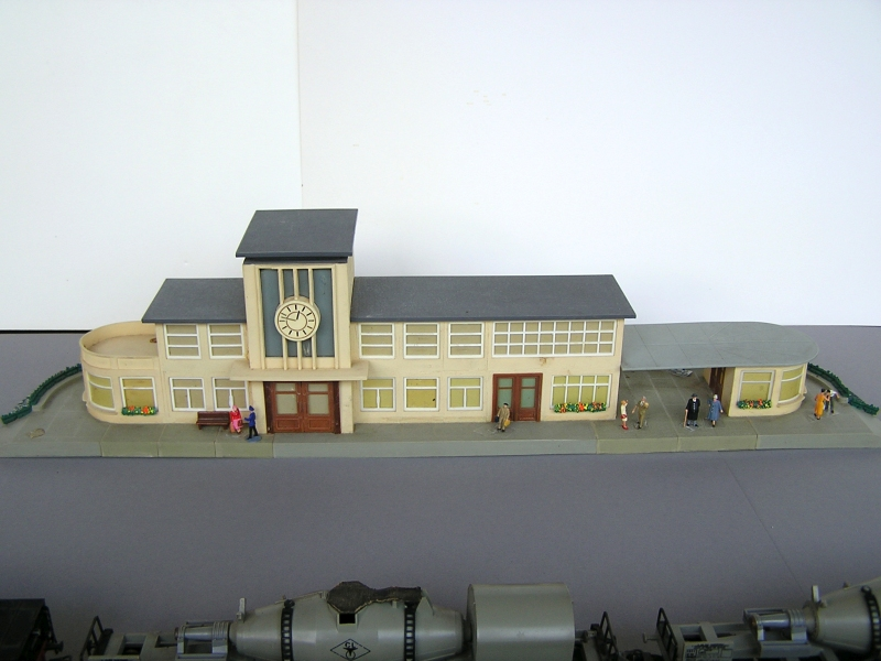 Bahnhof 0/51/7, Kibri, 1/87 224
