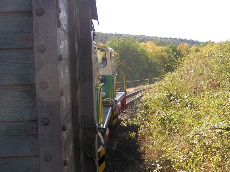 Mit dem Vulkan-Express hoch in die Eifel - die Brohltalbahn  2311