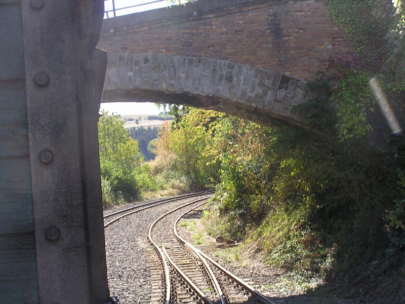 Mit dem Vulkan-Express hoch in die Eifel - die Brohltalbahn  2411