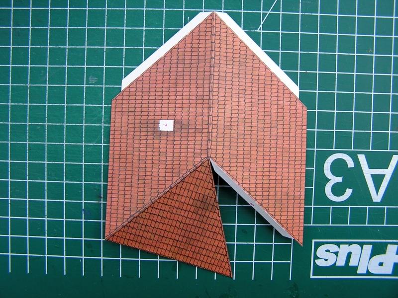 Bedarfshaltestelle Süßenmühle von Schreiber-Bogen in H0 - leicht aufgepeppt 2716