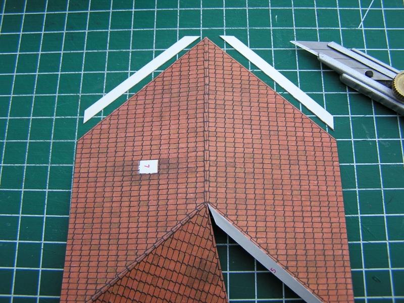 Bedarfshaltestelle Süßenmühle von Schreiber-Bogen in H0 - leicht aufgepeppt 2815