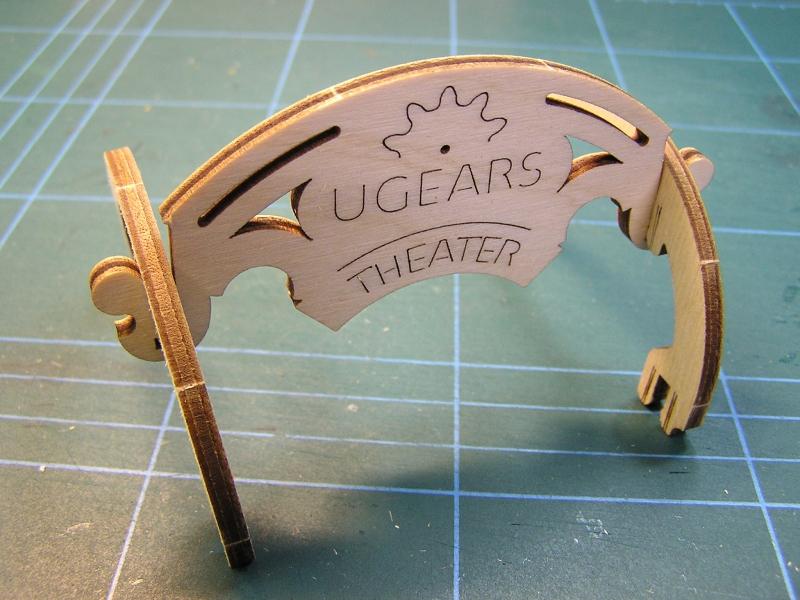 """Mechanisches """"Theater"""" von UGEARS 2915"""
