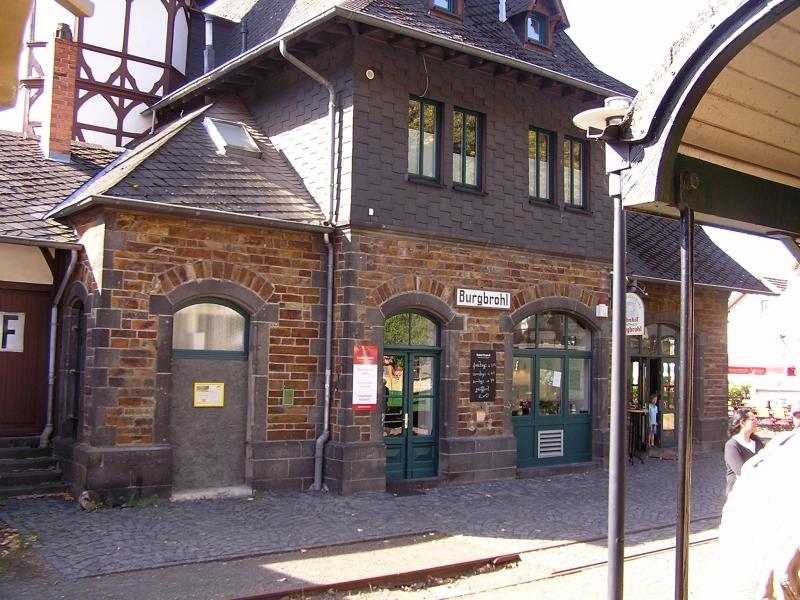 Mit dem Vulkan-Express hoch in die Eifel - die Brohltalbahn  313