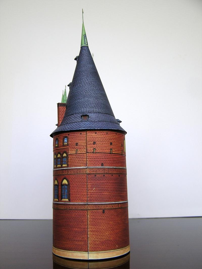 Holstentor Lübeck, 1:160, Schreiber-Bogen 321