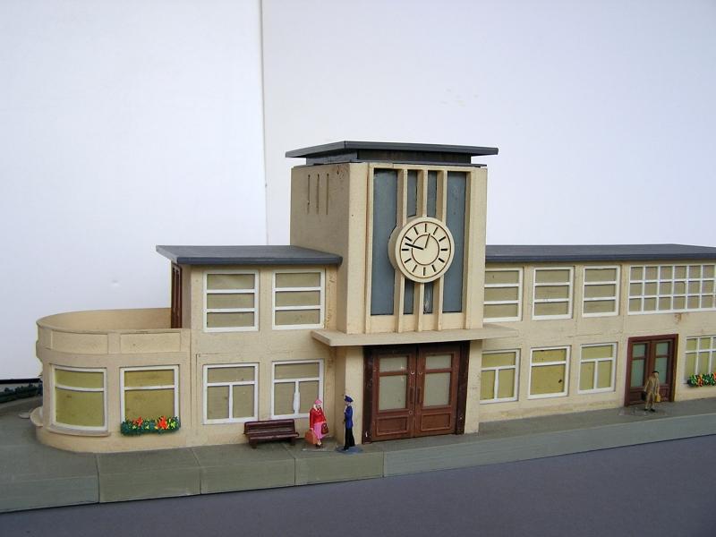 Bahnhof 0/51/7, Kibri, 1/87 322