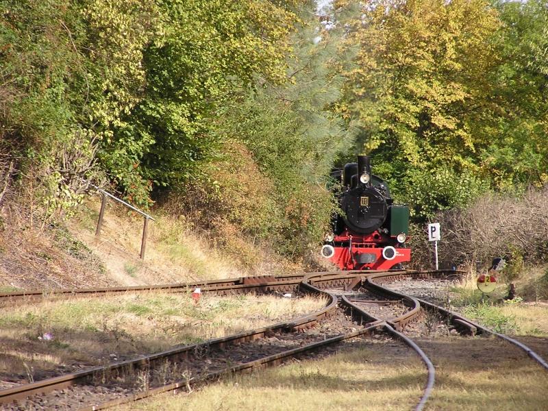 Mit dem Vulkan-Express hoch in die Eifel - die Brohltalbahn  3610