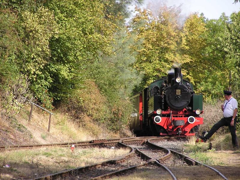 Mit dem Vulkan-Express hoch in die Eifel - die Brohltalbahn  3710