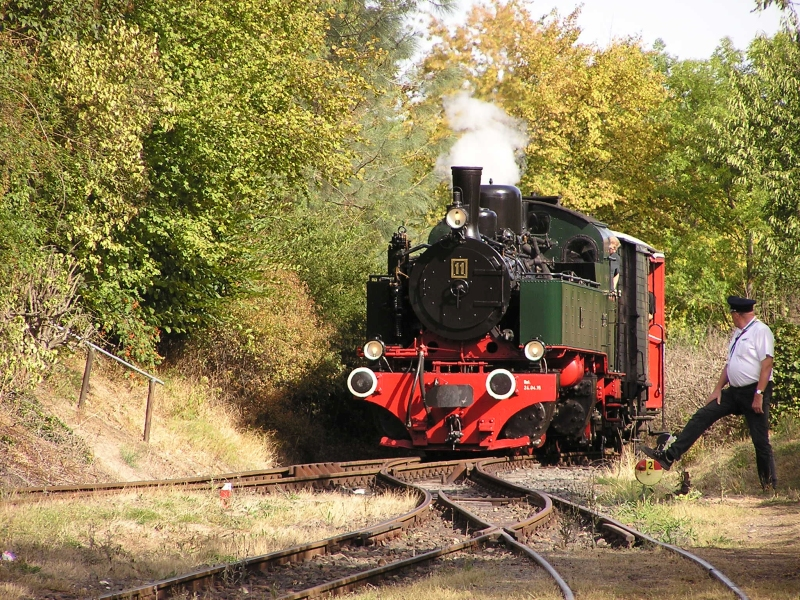 Mit dem Vulkan-Express hoch in die Eifel - die Brohltalbahn  3810