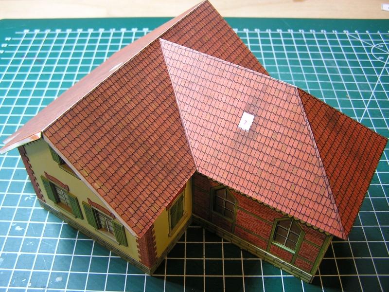 Bedarfshaltestelle Süßenmühle von Schreiber-Bogen in H0 - leicht aufgepeppt - Seite 2 3814