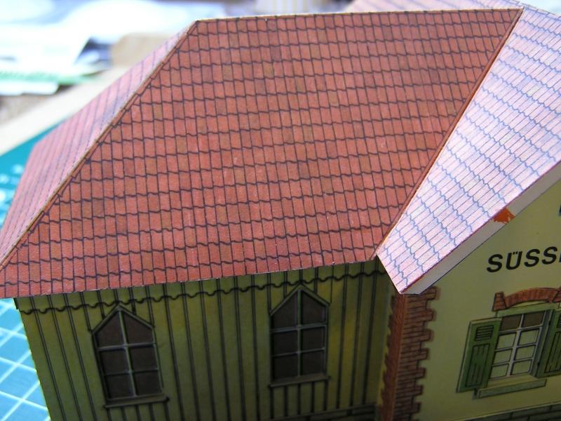 Bedarfshaltestelle Süßenmühle von Schreiber-Bogen in H0 - leicht aufgepeppt - Seite 2 3913