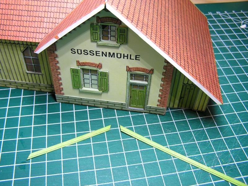 Bedarfshaltestelle Süßenmühle von Schreiber-Bogen in H0 - leicht aufgepeppt - Seite 2 4014