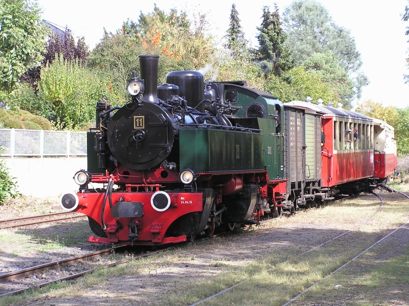 Mit dem Vulkan-Express hoch in die Eifel - die Brohltalbahn  4110