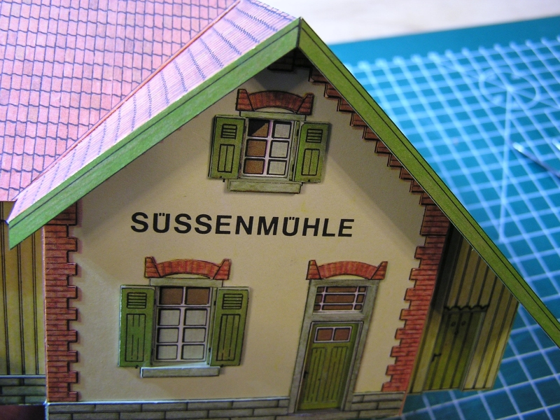 Bedarfshaltestelle Süßenmühle von Schreiber-Bogen in H0 - leicht aufgepeppt - Seite 2 4113