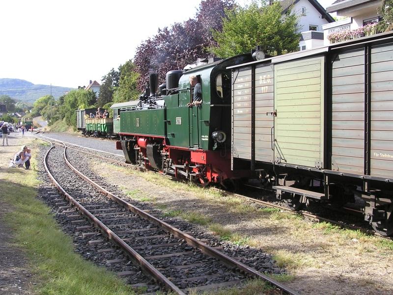 Mit dem Vulkan-Express hoch in die Eifel - die Brohltalbahn  4310
