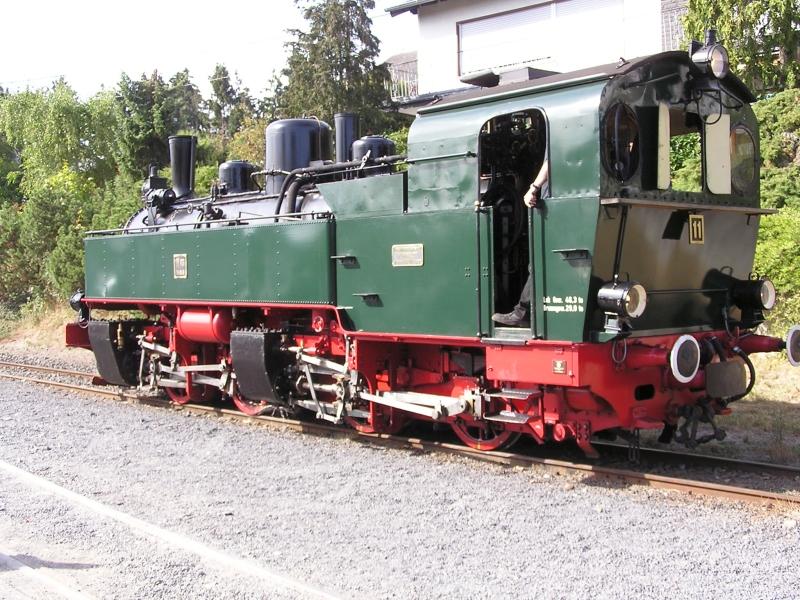 Mit dem Vulkan-Express hoch in die Eifel - die Brohltalbahn  4410