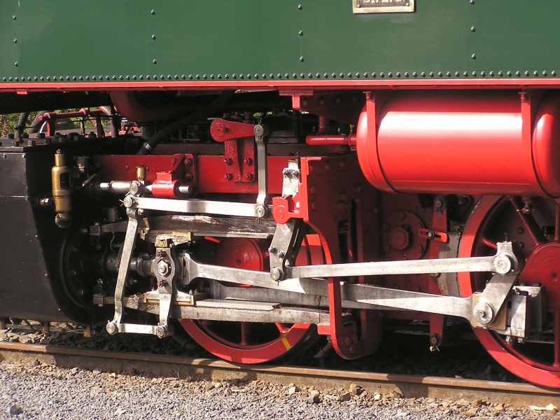 Mit dem Vulkan-Express hoch in die Eifel - die Brohltalbahn  4710