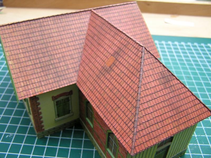 Bedarfshaltestelle Süßenmühle von Schreiber-Bogen in H0 - leicht aufgepeppt - Seite 2 4714