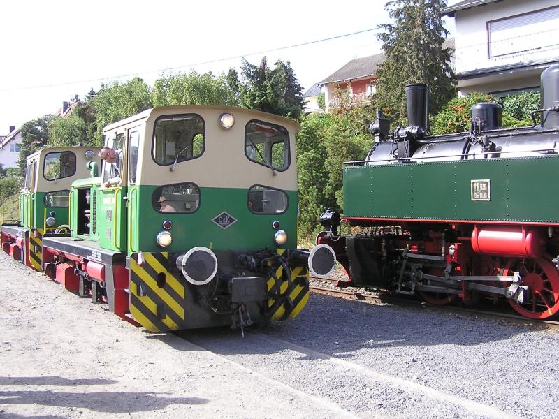 Mit dem Vulkan-Express hoch in die Eifel - die Brohltalbahn  4810