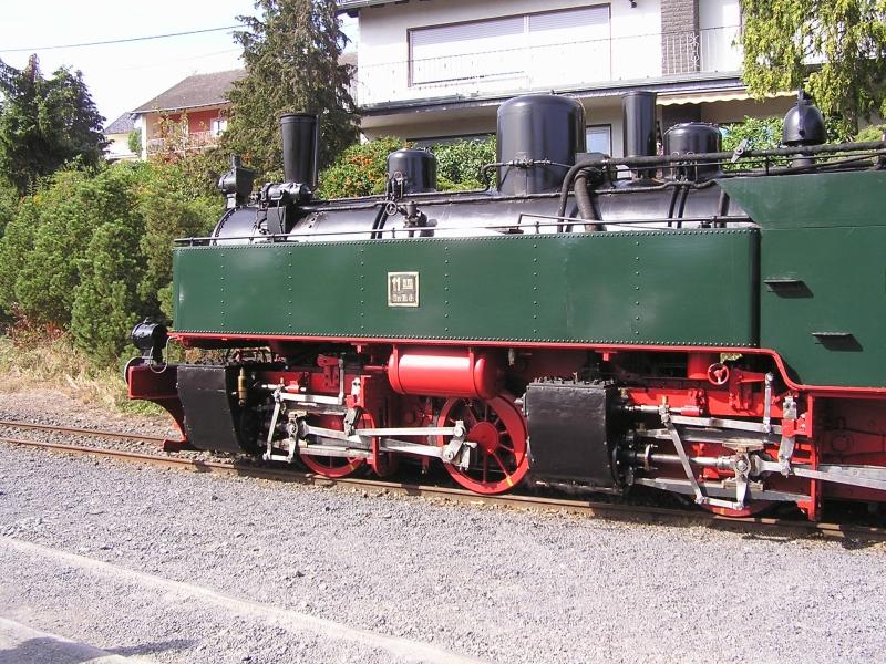 Mit dem Vulkan-Express hoch in die Eifel - die Brohltalbahn  4910
