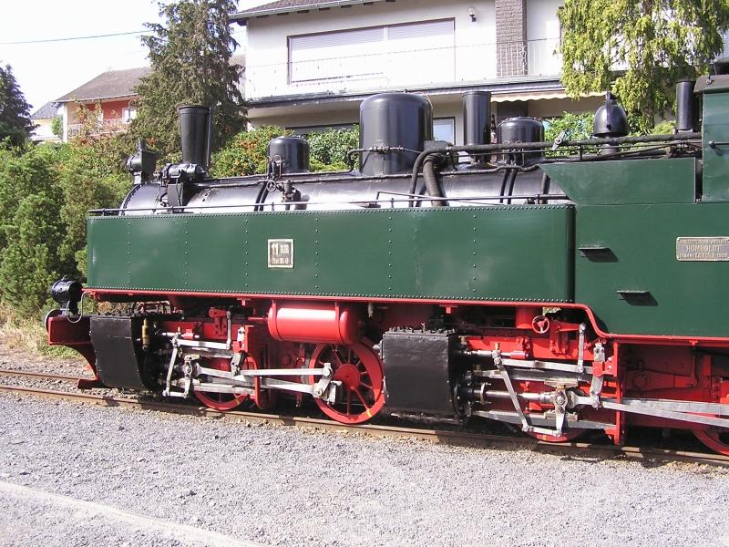 Mit dem Vulkan-Express hoch in die Eifel - die Brohltalbahn  49a10
