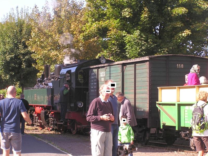 Mit dem Vulkan-Express hoch in die Eifel - die Brohltalbahn  511
