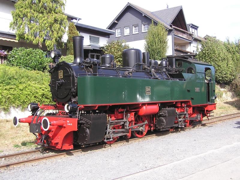 Mit dem Vulkan-Express hoch in die Eifel - die Brohltalbahn  5110