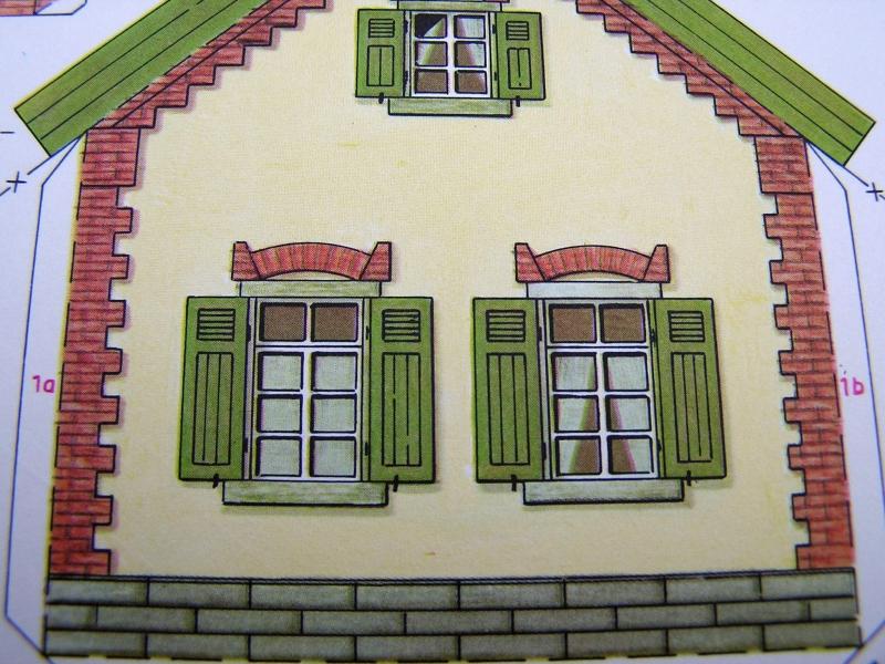 Bedarfshaltestelle Süßenmühle von Schreiber-Bogen in H0 - leicht aufgepeppt 517
