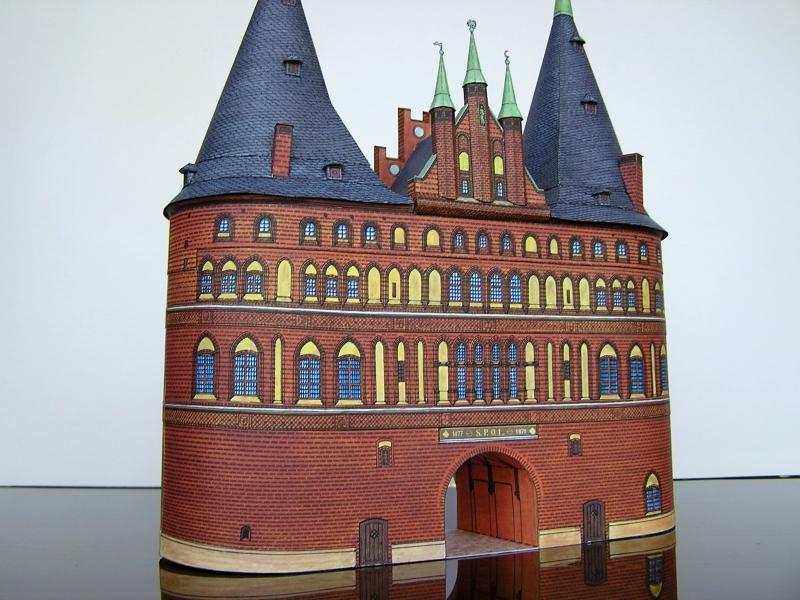 Holstentor Lübeck, 1:160, Schreiber-Bogen 519