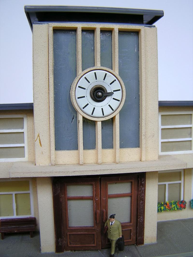 Bahnhof 0/51/7, Kibri, 1/87 520