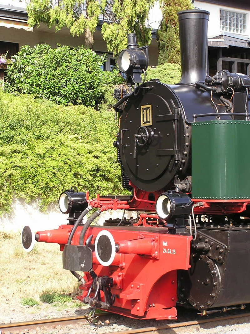 Mit dem Vulkan-Express hoch in die Eifel - die Brohltalbahn  5210