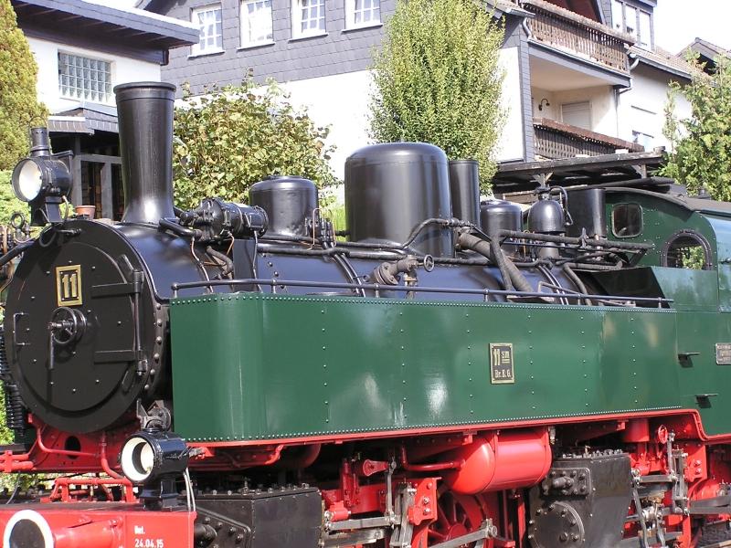Mit dem Vulkan-Express hoch in die Eifel - die Brohltalbahn  5310