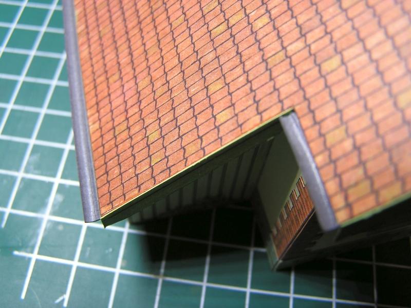 Bedarfshaltestelle Süßenmühle von Schreiber-Bogen in H0 - leicht aufgepeppt - Seite 2 55a10