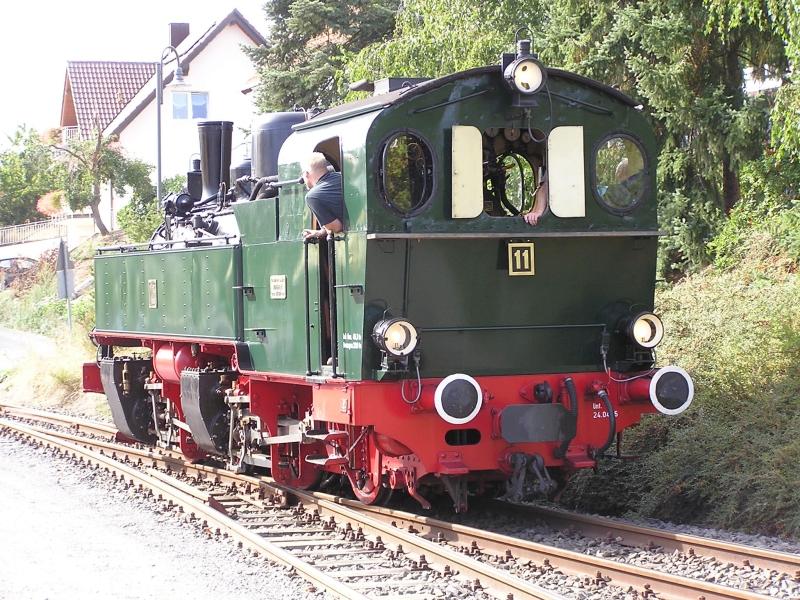 Mit dem Vulkan-Express hoch in die Eifel - die Brohltalbahn  5610