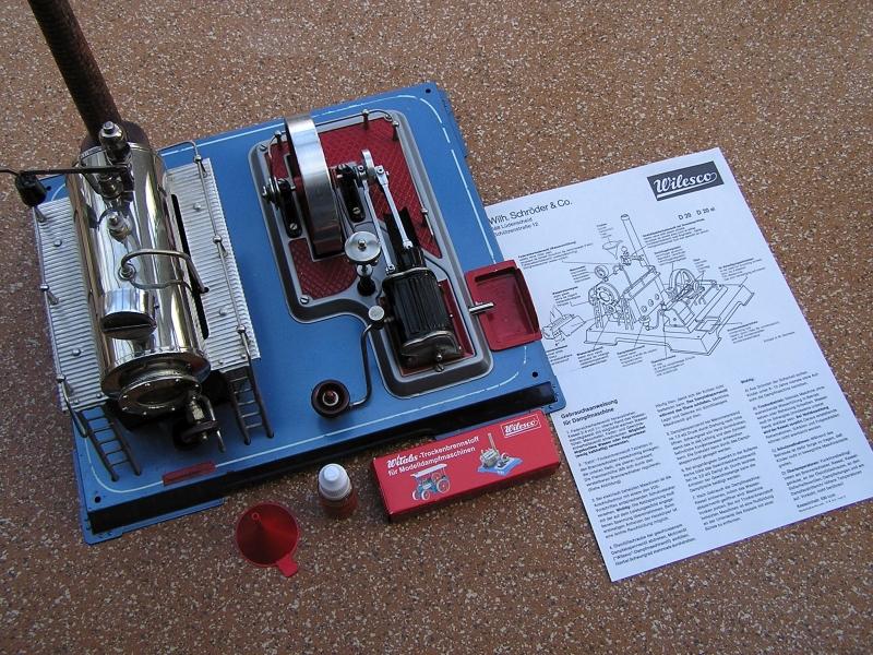 Modelldampfmaschine Wilesco D20 614