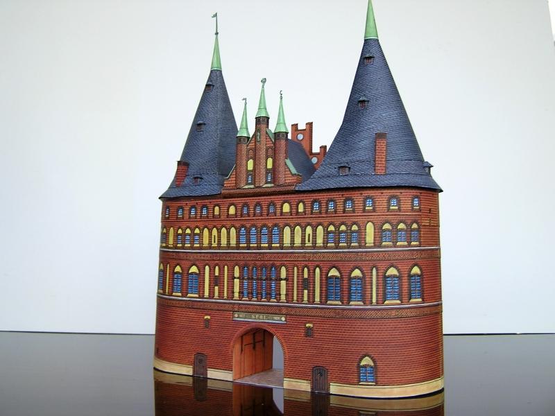 Holstentor Lübeck, 1:160, Schreiber-Bogen 620