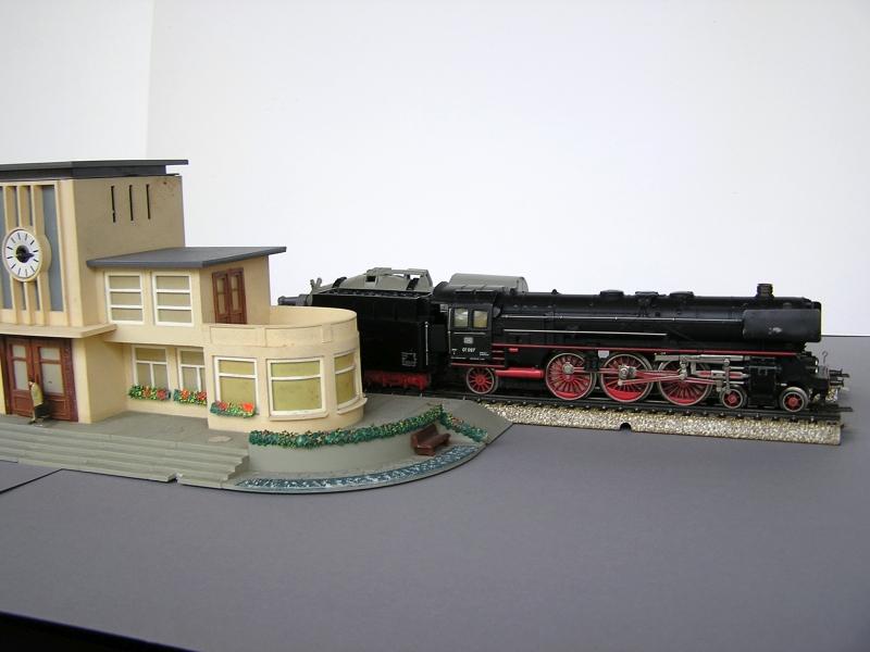 Bahnhof 0/51/7, Kibri, 1/87 6a10