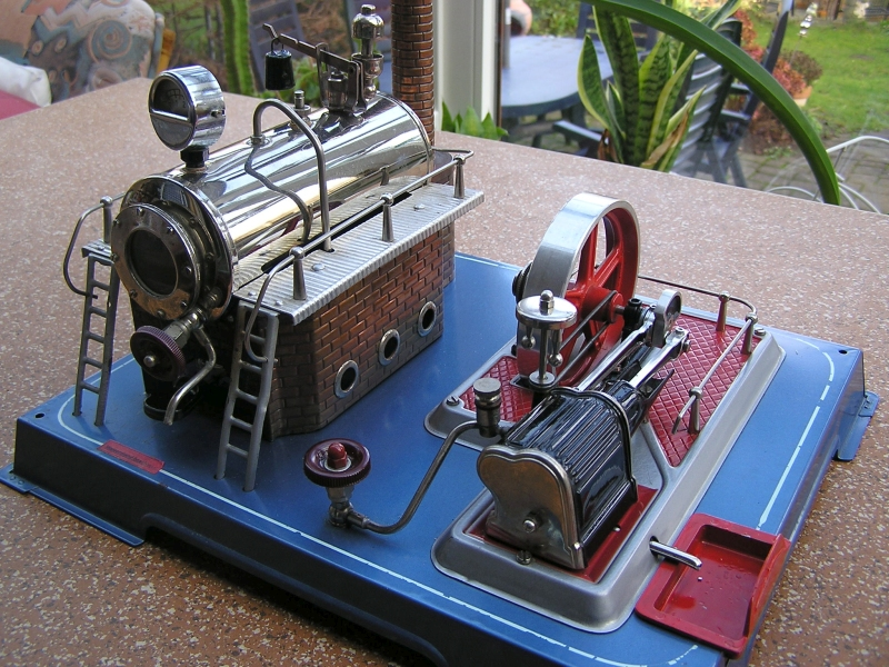 Modelldampfmaschine Wilesco D20 714